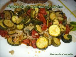cuisiner courgettes poele poélée de courgettes et chorizo pour la ronde interblog le