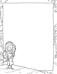 blank writing paper template tim van de vall comics printables for kids pirate paper template 02