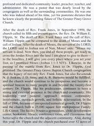 Church Administrator Our Church History