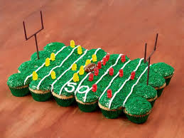 football cupcakes football party cupcakes food network recipe food network