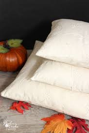 Fall Decorative Pillows - fall decorative pillows pattern and tutorial