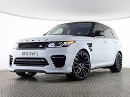 car range rover 2016 used 2016 land rover range rover sport 5 0 v8 svr 5dr start stop