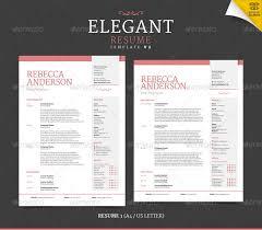 elegant resume template elegant resume template free vector
