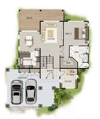home plans for sloping lots free home plans sloping land house front lot hillside home