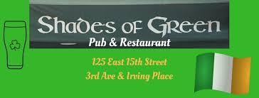 shades of green shades of green pub restaurant nyc home facebook
