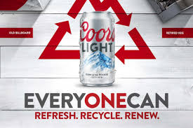 coors light on sale near me behind coors light s new environmental push cmo strategy adage