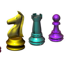 chess pieces free 3d model in other 3dexport