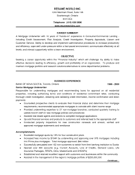 Resume Job Summary by Best Sample Insurance Underwriter Resume Xpertresumes Com