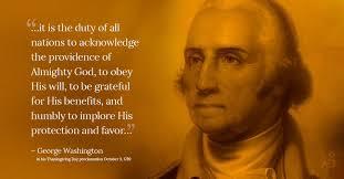 george washington s 1789 thanksgiving proclamation kendall