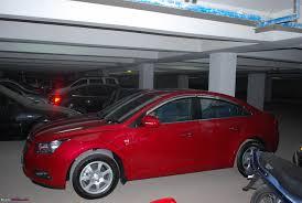 red velvet car 15k kms ownership of red cruze ltz at team bhp