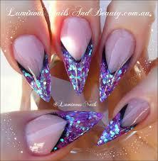 purple and neon orange nails sbbb info
