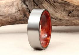 wooden metal rings images Wood wedding bands etsy eye candy jpg