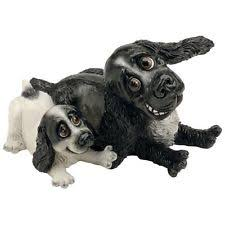 ornaments figurines unmounted cocker spaniel collectables ebay