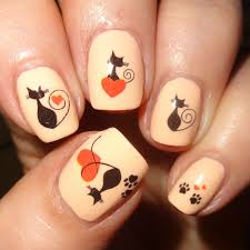 cat nail art water decals from born pretty store youtube