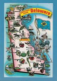 delaware road map usa map of delaware includes major cities towns counties and road