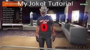 my gta v halloween costume joker tutorial youtube