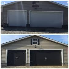 garage doors haas cool black garages near me youtube
