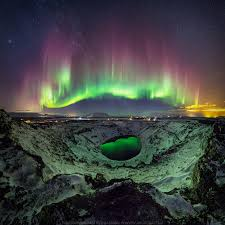 how long do the northern lights last a stunning view of the northern lights over iceland reflected in a