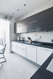 Pictures Of Kitchens With White Cabinets And Black Countertops Kitchen High Gloss Black Kitchen Cabinets High Gloss Kitchen