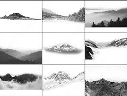 100 free and high quality photoshop mountain brushes for your