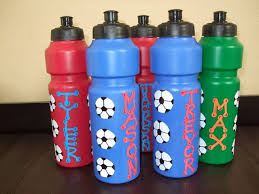 cheap personalized party favors sports party theme water bottle favors sports party favors
