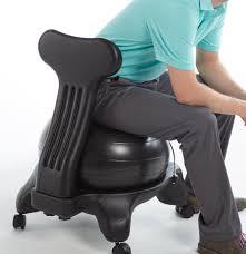 Modern Ball Chair Furniture Gaiam Balance Ball Chair For Inspiring Unique Chair