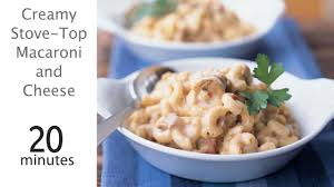 creamy stove top macaroni and cheese recipe myrecipes
