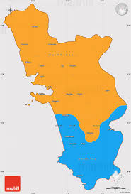 Outline Map Of India by Political Simple Map Of Goa Cropped Outside
