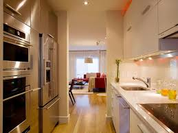 modern kitchen new gallery kitchen design galley kitchen design