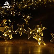 bright star lights christmas led holiday decorative bright star string outdoor solar christmas