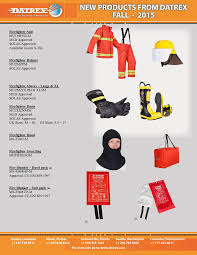 Firefighter Boots Information by Datrex Firefighting Gear Flyer Detail