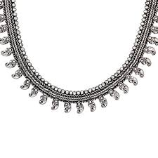 necklace silver online images Buy ranvijay oxidised german silver necklace online at low prices jpg
