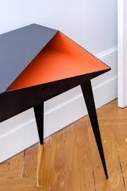 bureau de designer oxidée le mobilier à consonance métallique tables interiors and