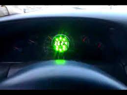 msd programmable digital shift light glowshift digital shift light tachometer f150 youtube