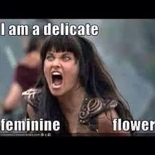 I Am Meme - i am a delicate feminine flower sarcastic meme for wife funny