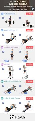 easy workout plans at home minute hit it hard full body workout