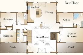 log floor plans 5 bedroom log home floor plans photos and
