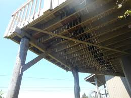 earthquake safety for second story deck cses engineering