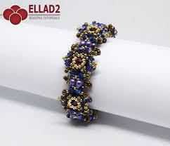 bracelet bead tutorials images Tutorial zara bracelet beading patterns and tutorials by ellad2 jpg
