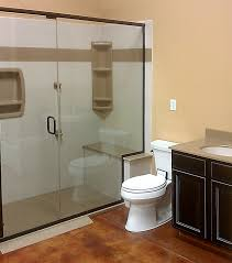 Walk In Shower With Bench Seat Bathroom Remodeling Chapman Custom Baths