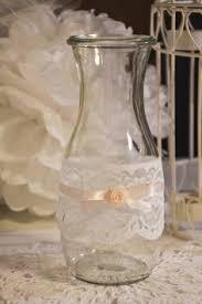 windlicht vase rosa hochzeitsdeko vintage shabby wedding and