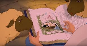 beauty and the beast town a closer look at the fan theory that belle reads u0027aladdin u0027 in