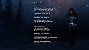 The Blinding Light Lyrics Wintersun Loneliness I By Jowain92 On Deviantart