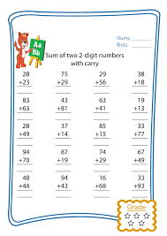 2 digit addition with trading freebie this is 1 worksheet