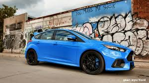 high performance ford focus the 2016 ford focus rs takes on 3 rivals in high performance