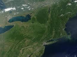 North East United States Map Nasa Visible Earth Northeast United States