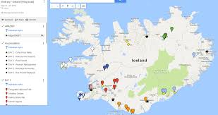 Ring Of Fire Map Itinerary Iceland Ring Road In 7 Days Rugged Footprints