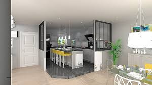 separation cuisine style atelier decor unique comment decorer une cuisine ouverte high resolution