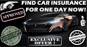 auto insurance quotes for one day things to consider