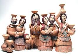 ceramic menorah she makes magical menorahs and more places we go we see